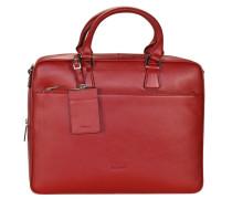 Aktentasche 'Maggie' 39 cm Laptopfach rot