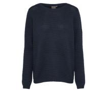 Pullover 'marna' dunkelblau / schwarz