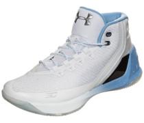 'Curry 3' Basketballschuh hellblau / weiß
