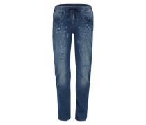 'Boyfriend' Jeans blue denim