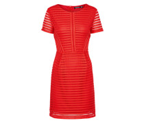 Kleid 'Lace Pannelled' rot