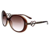 Sonnenbrille Braun braun