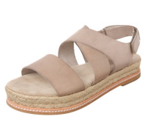Plateau-Sandalen 'Natural Dyed' taupe