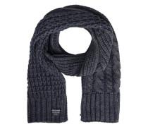 Klassischer Schal ultramarinblau