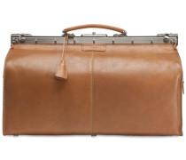 Toscana Bügelreisetasche Leder 52 cm beige