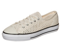 Chuck Taylor All Star High Line OX Sneaker Damen beige
