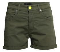 Shorts mit Neondetails grün