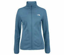 Softshelljacke 'WOMENs Tanken Full Zip' rauchblau