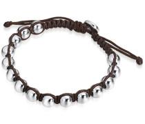 Armband kastanienbraun / silber