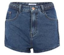 Jeansshorts im Vintage-Look blau