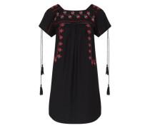 Kleid im Folklore-Stil schwarz