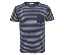 T-Shirt ultramarinblau