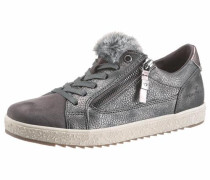 Sneaker taupe / dunkelgrau / weiß