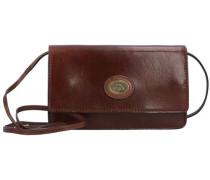 Story Donna Mini Bag Umhängetasche Leder 19 cm braun