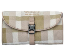 'Travel Accessories I Mini Waschsalon' Kulturtasche 26 cm beige / sand