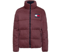 Steppjacke ' Thermo ' dunkelrot