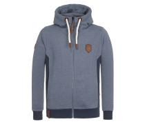 Zipped Jacket 'Birol Viii' marine / taubenblau