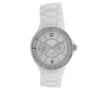 Armbanduhr 'Iris' silber / weiß