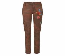 Jeans Cargojeans »P26T« braun / khaki