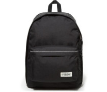 'Authentic Collection XI Out of Office' Rucksack 44 cm mit Laptopfach schwarz / weiß
