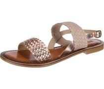 Sandaletten hellbeige / rosegold