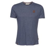 'Italienischer Hengst V' Shirt blau / grau