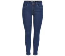 Skinny Fit Jeans 'Denim power reg ankle' blue denim