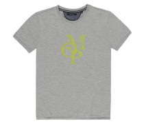 Junior T-Shirt 1/4 Armlänge grau