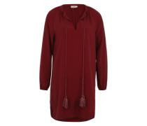 Kleid 'ladies Woven Tunic' rot