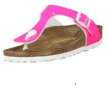 Zehentrenner Gizeh Lack Neon Schmal 847243 pink