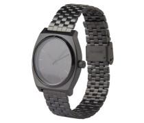 Armbanduhr 'Time Teller' schwarz
