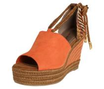 'Nara' Sandaletten braun / orange