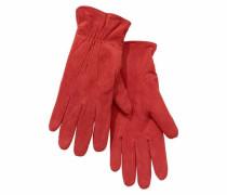 Lederhandschuhe rot