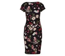 Kleid pink / schwarz