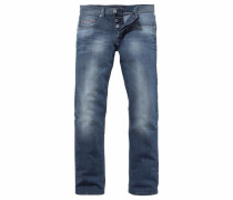 Straight-Jeans blue denim