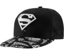 Superman Cap Kinder schwarz