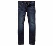 Straight-Jeans »Liam (Stretch)« dunkelblau