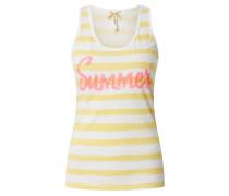 Top 'Summer' pink / gelb / weiß