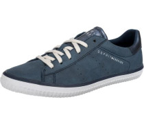 Riata Lace up Sneakers Low blau