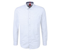 Gestreiftes Hemd weiß