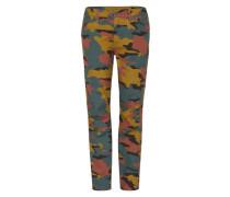 '5622 Elwood Uncovered' Mid Waist Jeans senf / grün