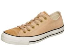 'Chuck Taylor All Star OX' Sneaker Damen braun / hellbraun