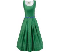 Trachtenkleid grün / himmelblau