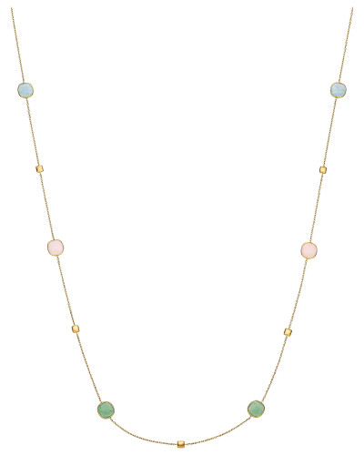 Kette opal / gold / apfel / apricot