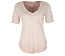 T-Shirt 'vneck Paillette' rosa