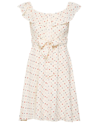 Kleid 'rina' beige