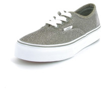 Sneaker Authentic Textil silber