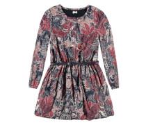 Kleid langärmlig mischfarben