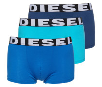 Pants im 3er-Pack 'Shawn' blau / türkis / dunkelblau