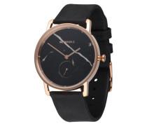 Armbanduhr 'Frida' rosé / schwarz